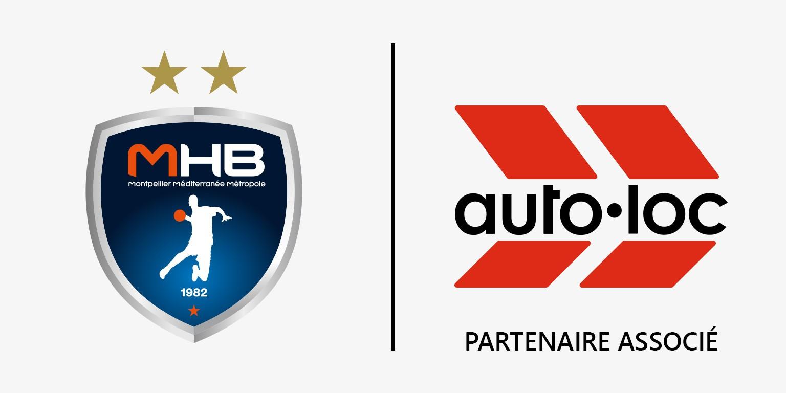 Autolocation, partenaire associé du Montpellier Handball.